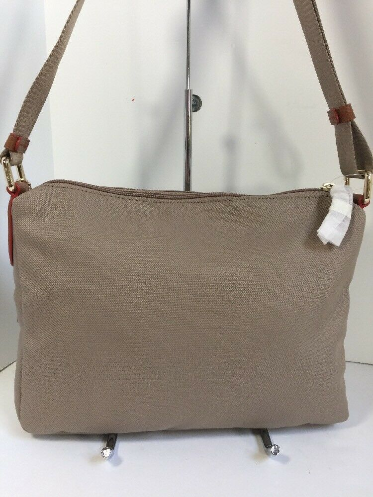 New Coach Crossbody Bag Fume Nylon F37337 Stone Brown B2A image 3