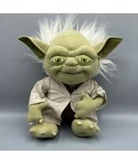 "Star Wars 12"" Yoda Plush 2012 Underground Toys - $24.74"