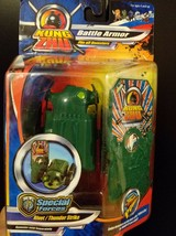 Kung Zhu Battle Armor For Hamsters Special Forces Rivet Thunderstrike - $5.45
