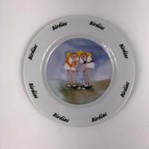 House of Prill Erika Oller Golf Birdie Luncheon Dessert Salad Plates Lot... - $14.80