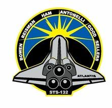 STS-132 Nasa Atlantis Sticker M568 Space Program - $1.45+