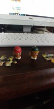 series 2 teenymates mlb A's and Reds action figures - $1.90
