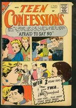 TEEN CONFESSIONS #4-CHARLTON ROMANCE-AFRAID TO SAY NO VG - $25.22