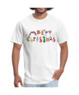 Holiday Font Christmas T Shirt Adult, Youth & Infants - $19.99+