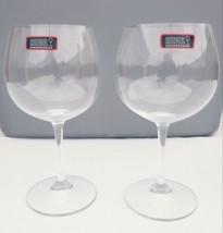 Set Lot of 2 New RIEDEL  2001 Oaked Chardonnay wine glass 600ml NWT No box - $64.34