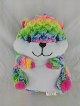 "Nanco Hamster Plush Rainbow Colors 10"" Stuffed Animal Toy - $17.95"