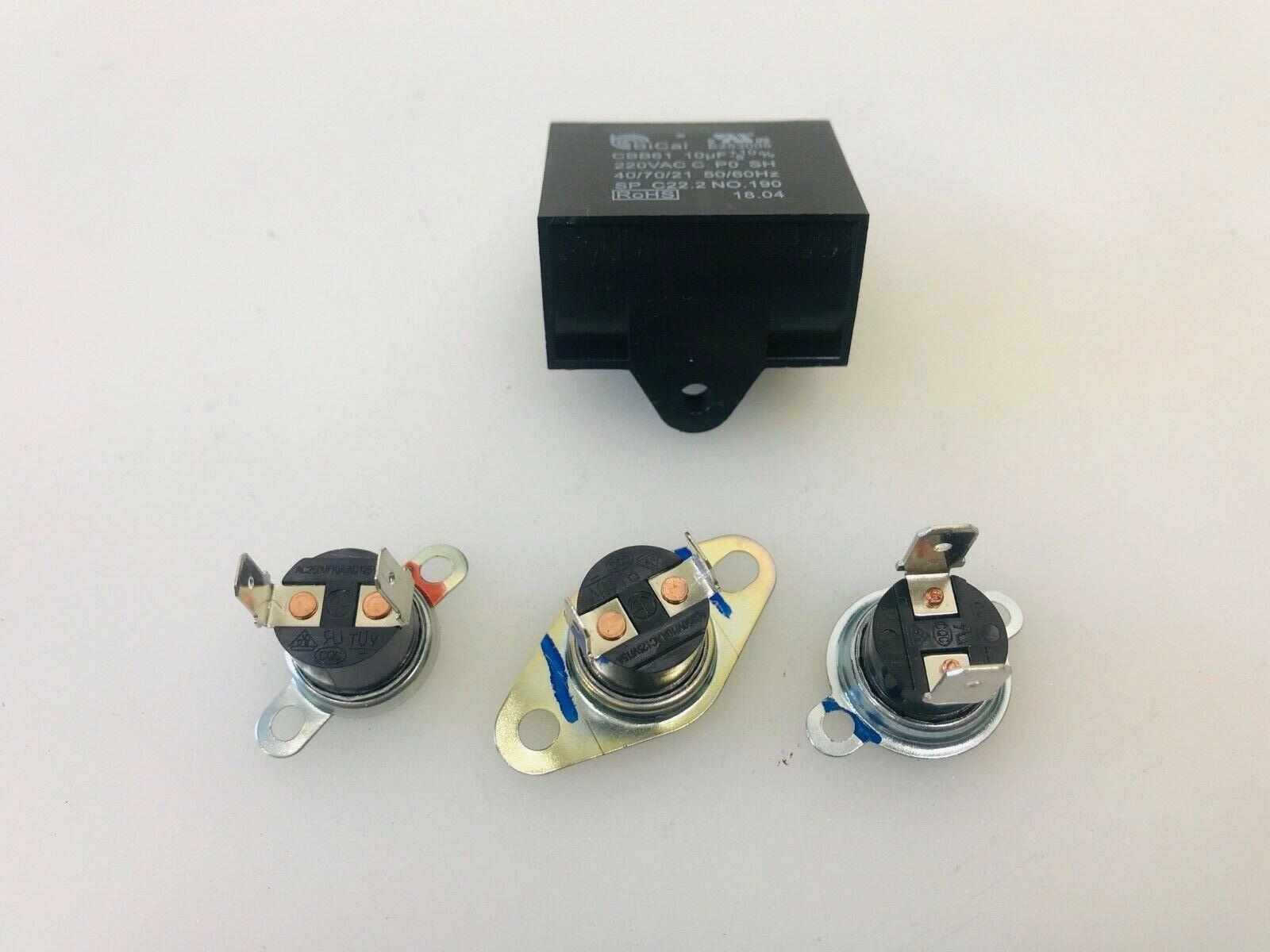 Samsung Microwave Capacitor - Thermostat Set DE47-20034A DE47-20059B