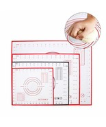 Reusable Silicone Baking Mat for Rolling Dough Large Pad Non-stick Acces... - $10.09+