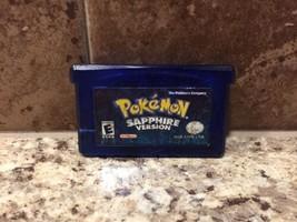 Pokemon: Sapphire Version (Nintendo Game Boy Advance, 2003) Tested - $16.44