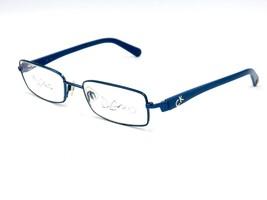 Calvin Klein 5162 Unisex Metal Eyeglasses Frame, 414 Night Blue. 52-18-135 #P99 - $34.60