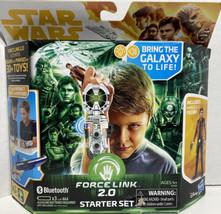 Star Wars Force Link 2.0 Starter Set with Han Solo Figure  New damaged b... - $13.51