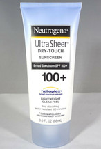 Neutrogena-Ultra Sheer Dry-Touch Sunscreen SPF 100+ Lightweight 3.0 fl oz [HB-N] - $10.25