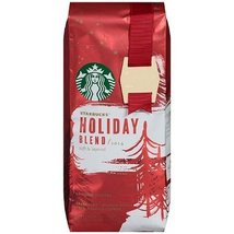 Starbucks Ground Holiday Blend Coffee 2014, 10 oz (Pack of 4) - $49.00