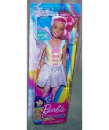 Barbie DREAMTOPIA Sweetville Fairy Doll with Pink Hair New - $12.88