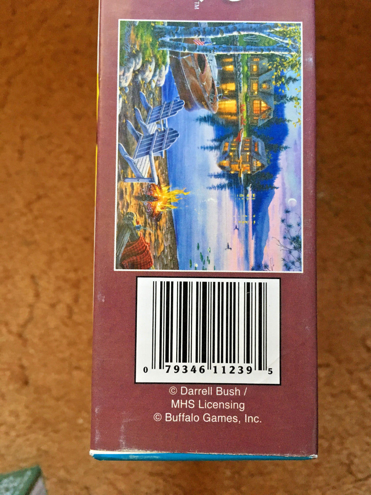 Darrell Bush Lake Reflections Jigsaw Puzzle 1000 Pieces PreOwned Slightly Used