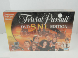 New Sealed 2004 Trivial Pursuit Snl Dvd Edition Game Saturday Night Live - $8.41