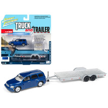 2006 Chevrolet HHR Daytona Blue with Chrome Open Car Trailer Limited Edition to  - $26.64