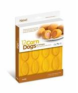 Mobi CD-12 12 Mini Corn Dogs Silicone Baking Mold Yellow - $14.52