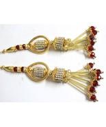 Lot 10 pc Indian Tassels home decorative handbags boho gypsy handmade de... - $21.07