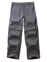Kids Boy's Cargo Pants-Youth Outdoor Waterproof Hiking Camping Fishing T... - $27.26