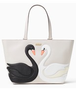 NWT $349 Kate Spade SWAN AROUND JULES Leather Tote! - £149.47 GBP