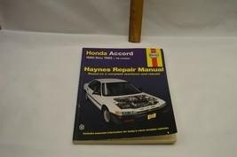 Haynes Repair Manual Honda Accord (1990 - 1993) Free Shipping! - $9.89