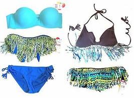 Raisins Bikini Separates Fringe Bikini Tankini Swimsuit Separates NWT Sz... - $23.74+