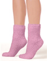HUE Women's Super Soft Cozy Socks Tulip Pink One Size $10 - NWT