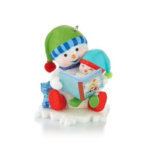 "Primary image for Hallmark 2013 ""Reading is Snow Much Fun"" Ornament"