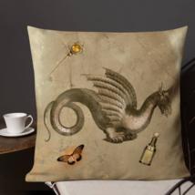 Badge Garden Patio Sofa Decorative Vintage Victorian Pillow Cushion  - $23.99+