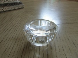"LENOX CRYSTAL TRINKET BOX WITH LID OVAL SHAPED 3""W X 2""H  - $9.85"