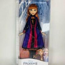 "DISNEY Frozen II Anna Doll 10"" NEW - $19.79"