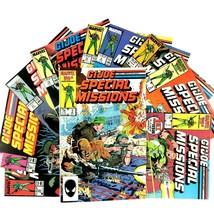 GI Joe Special Missions 10 Comic Book Lot Marvel 1 2 3 4 6 16 19 21 23 25  - $24.70