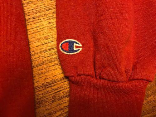 vintage champion Brand sweatshirt Red XL Excellent Condition Logo Crewneck