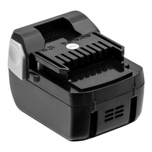 6.0Ah Li-Ion Replacement Battery 14.4V Power Tool Battery For Hitachi BSL1460 Po - $63.98