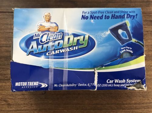 Primary image for Mr. Clean AutoDry Car Wash System  Auto Dry Device, Soap NO Filter  NEW IN BOX