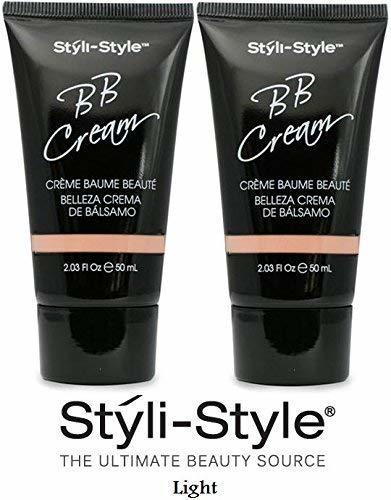 Styli-Style BB Cream LIGHT (2.03 fl. oz./50mL.) Each Tube (Set of 2) - $9.79
