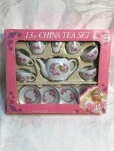 Barbie - 13 Piece China Tea Set - 1992 - By Chilton Toys  - $24.70