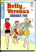 Archie's Giant Series #8 1960-Betty & Veronica Summer Fun-beach-Gehrig-VG - $119.80