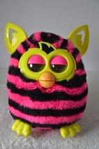 "Hasbro Furby Boom Furbling Talking Toy Black and Pink 2013 6"" Tall Yello... - $11.87"