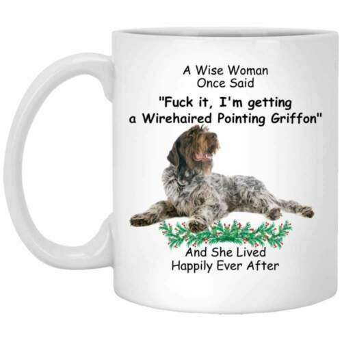Wirehaired Pointing Griffon Grey Merle Gifts For Dog Mom A ...