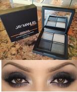 Jay Manuel Beauty Intense Color EYESHADOW Quad NARCOTIC Black Gray Smoke... - $11.75