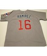 Chicago Cubs Aramis Ramirez #16 MLB NL Majestic Collection Gray Jersey 5... - $128.69