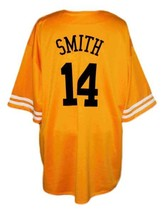 Will Smith Bel-Air Academy Baseball Jersey Button Down Yellow Any Size image 5