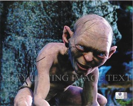 Andy Serkis Autographed 8x10 Rp Photo Gollum The Lord Of The Rings - $17.99