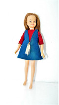 Vintage PEPPER DOLL by Ideal Toy Co. Tammy Family 1964 See Pics DO-9-E - $37.39