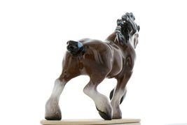 Hagen Renaker Miniature Draft Horse on Base Ceramic Figurine image 5