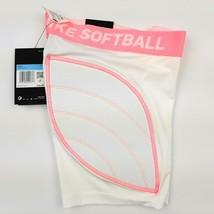 Nike Girl's Dri-FIT Softball Slider Shorts Padded (White) AV6843-100 Size Med - $18.80