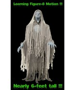 Life Size Animated EVIL ENTITY GHOST ZOMBIE Halloween Prop * Figure-8 Mo... - $189.97