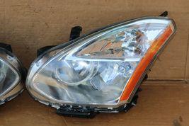 08-10 Nissan Rogue HID Xenon Headlights Set L&R - POLISHED image 4